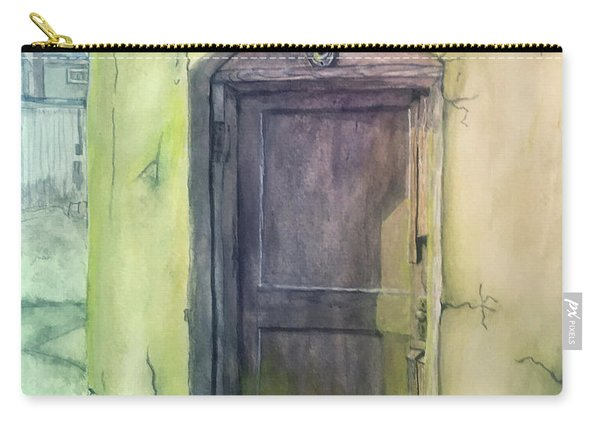 Doorway To The Alley Carry-all Pouch