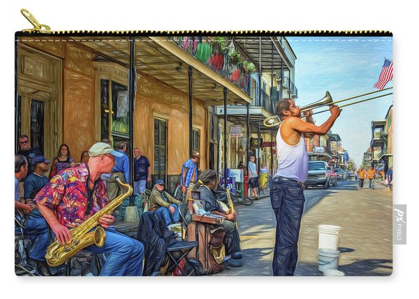 Doreen's Jazz New Orleans - Paint Carry-all Pouch