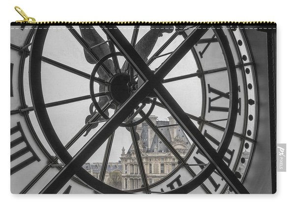 D'orsay Clock Paris Carry-all Pouch