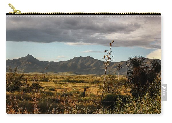 Dos Cabezas Grasslands At Dusk Carry-all Pouch