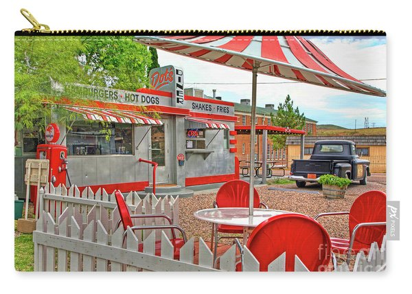 Dot's Diner In Bisbee Arizona Carry-all Pouch