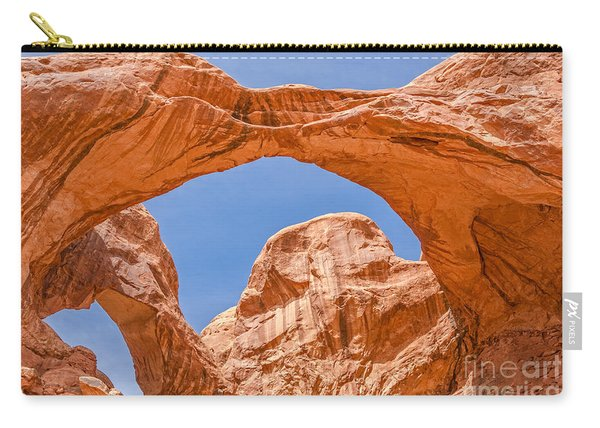 Double Arch At Arches National Park Carry-all Pouch