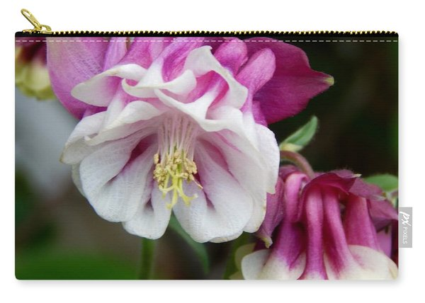 Double-blossomed Columbine Carry-all Pouch