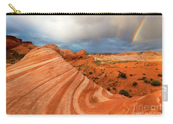 Double Desert Rainbow Carry-all Pouch