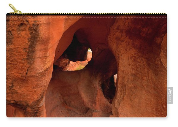 Double Desert Windows Carry-all Pouch