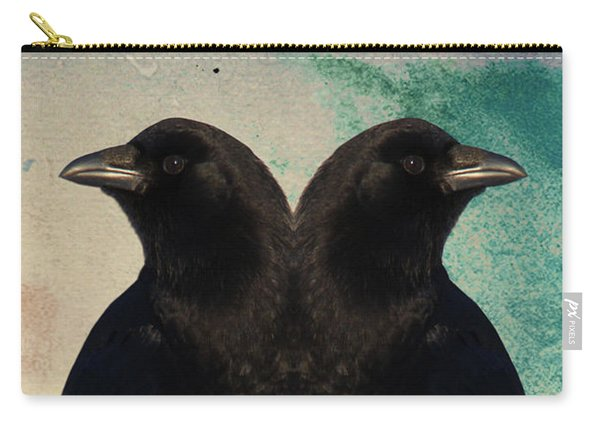Twin Beaks Carry-all Pouch