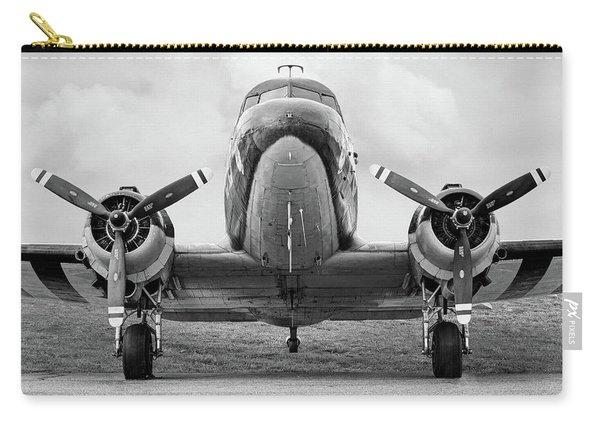 Douglass C-47 Skytrain - Dakota - Gooney Bird Carry-all Pouch