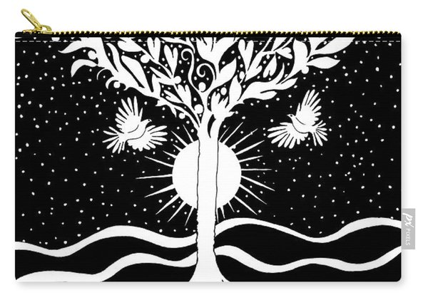 Dove Tree Carry-all Pouch