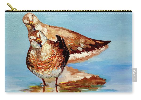 Dowitcher Birds Carry-all Pouch