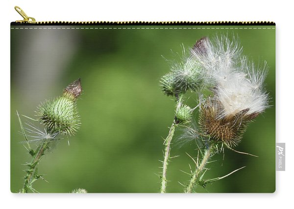 Down Of The Thistle Carry-all Pouch