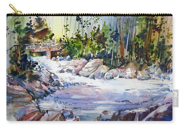 Down Stream On Hoppers Creek Carry-all Pouch