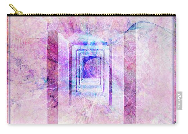 Down The Hall Carry-all Pouch