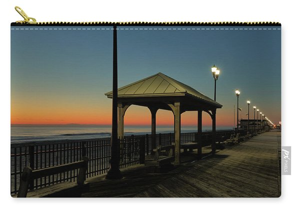 Down The Shore At Dawn Carry-all Pouch