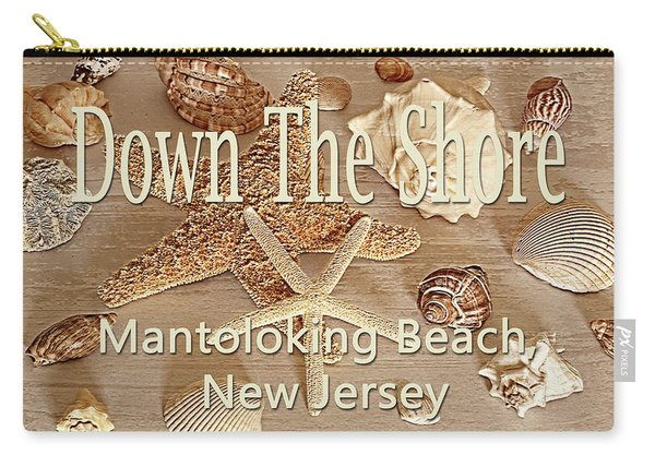 Down The Shore - Mantoloking Beach, New Jersey Carry-all Pouch