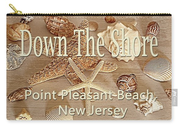 Down The Shore - Point Pleasant Beach, New Jersey Carry-all Pouch