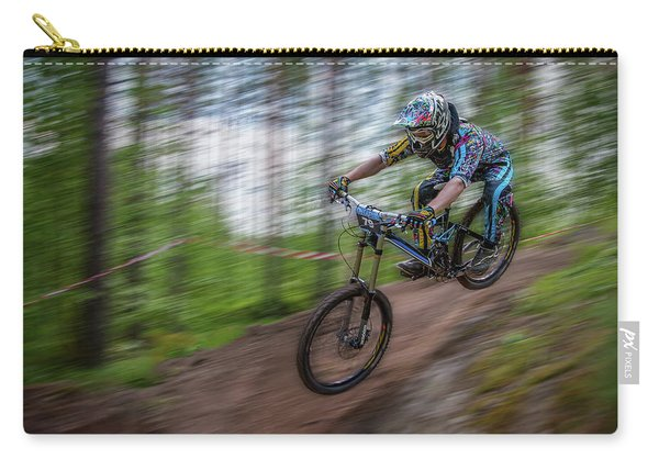 Downhill Race Carry-all Pouch
