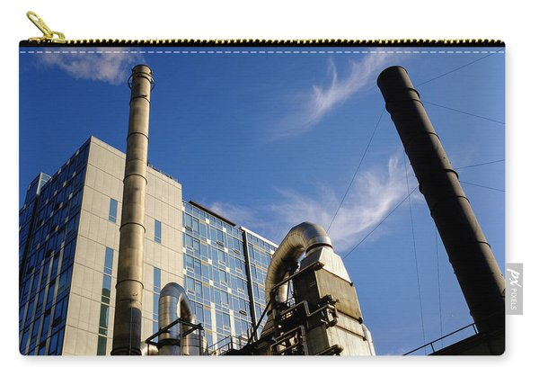 Downtown Buildings And Factory In Seattle Washington Carry-all Pouch