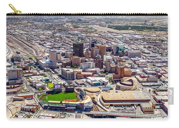 Downtown El Paso Carry-all Pouch