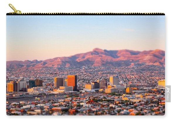 Downtown El Paso Sunrise Carry-all Pouch