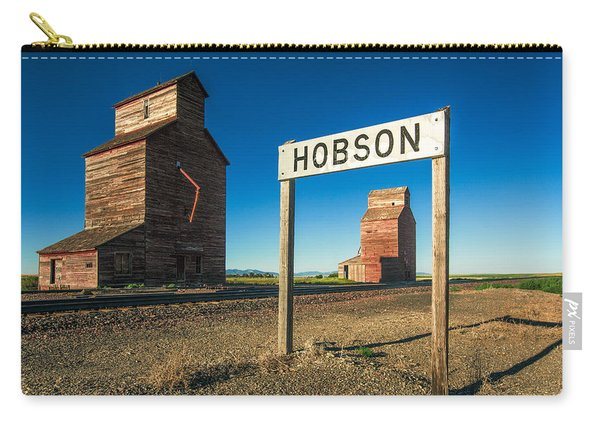 Downtown Hobson, Montana Carry-all Pouch