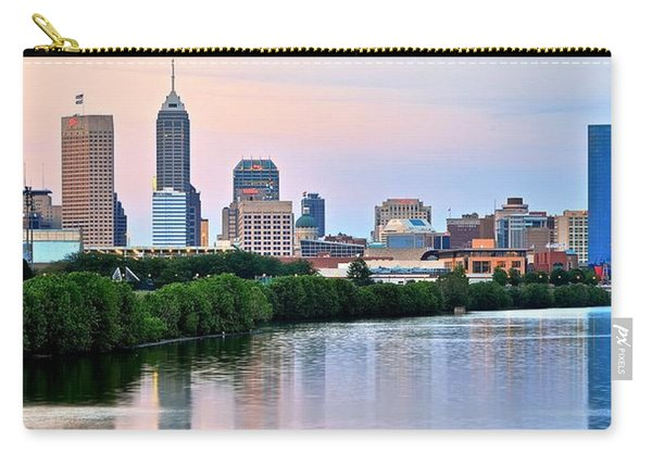 Downtown Indy Panoramic Carry-all Pouch