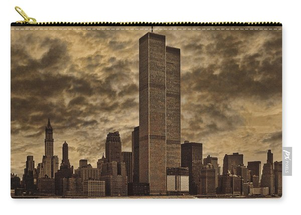 Downtown Manhattan Circa Nineteen Seventy Nine  Carry-all Pouch