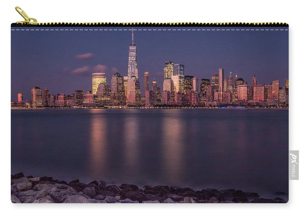 Downtown Nyc At Sunset Carry-all Pouch