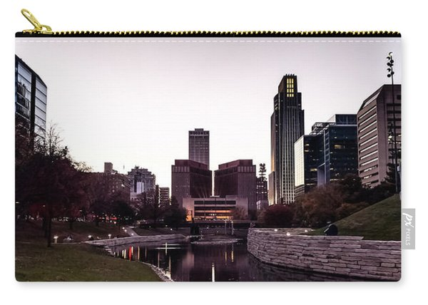 Downtown Omaha At Sunset Carry-all Pouch