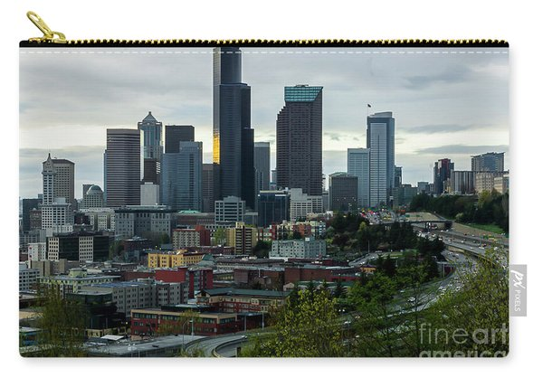 Downtown Seattle,washington Carry-all Pouch