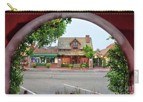 Downtown Solvang Carry-all Pouch