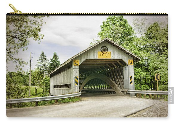 Doyle Road Covered Bridge Carry-all Pouch