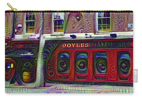 Doyles The Times We Live Inn At Dublin Ireland Carry-all Pouch