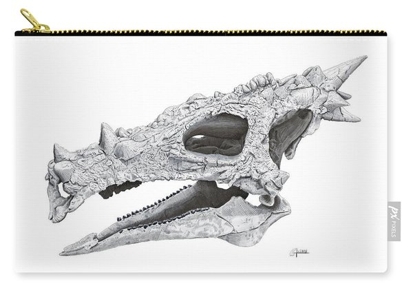 Dracorex Hogwartsia Skull Carry-all Pouch