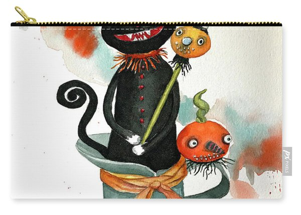 Dracula Vintage Cat Carry-all Pouch