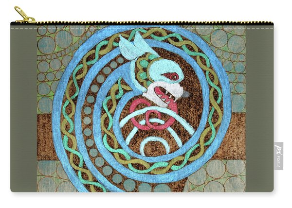 Dragon And The Circles Carry-all Pouch