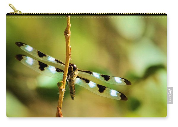 Dragon Fly On A Summer Morning Carry-all Pouch
