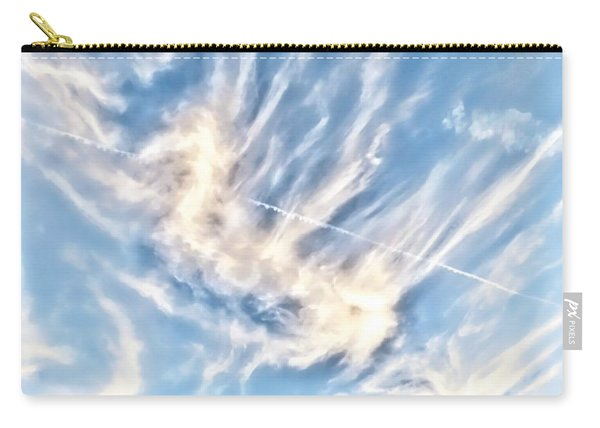 Dragon In The Flight Path Carry-all Pouch