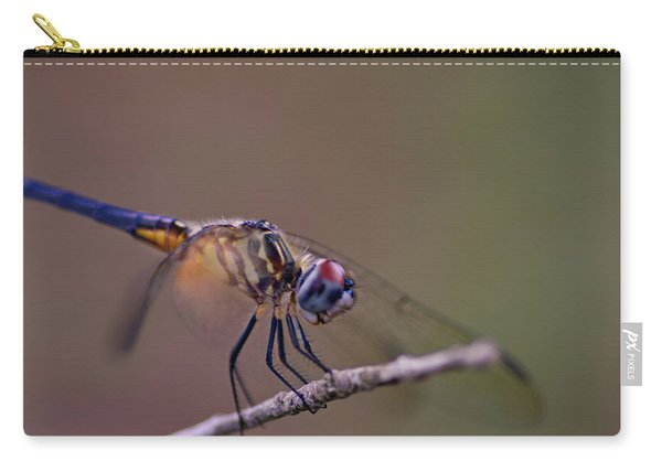 Dragonfly On Twig Carry-all Pouch
