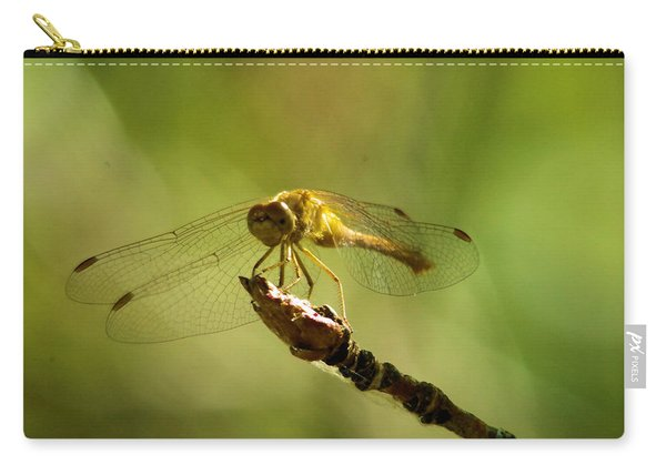 Dragonfly Perched Carry-all Pouch