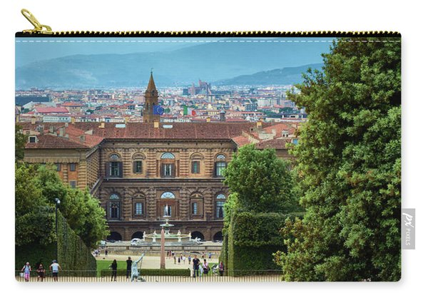 Drama In The Palace Of Firenze Carry-all Pouch