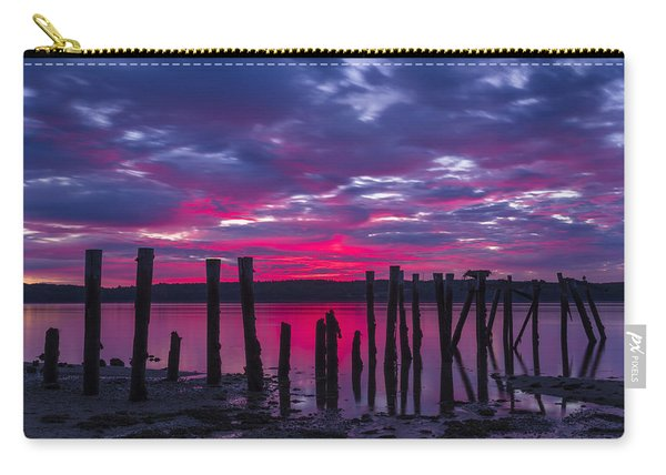 Dramatic Maine Sunrise Carry-all Pouch