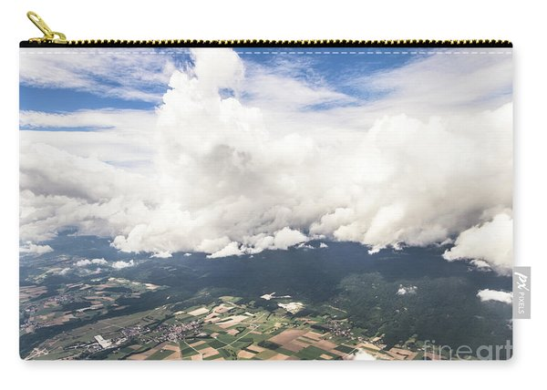 Dramatic Swiss Sky Carry-all Pouch