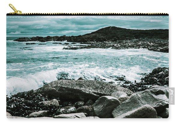 Dramatic Western Tasmania Beach Carry-all Pouch