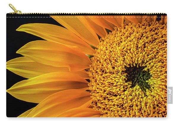 Dramatic Yellow Sunflower Carry-all Pouch
