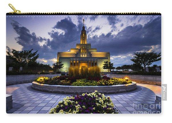 Draper Mormon Lds Temple - Utah Carry-all Pouch