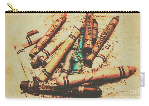 Draw Of Vintage Art Carry-all Pouch