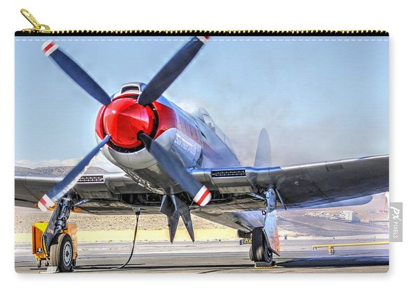 Dreadnaught Engine Start Sunday Gold Unlimited Reno Air Races Carry-all Pouch