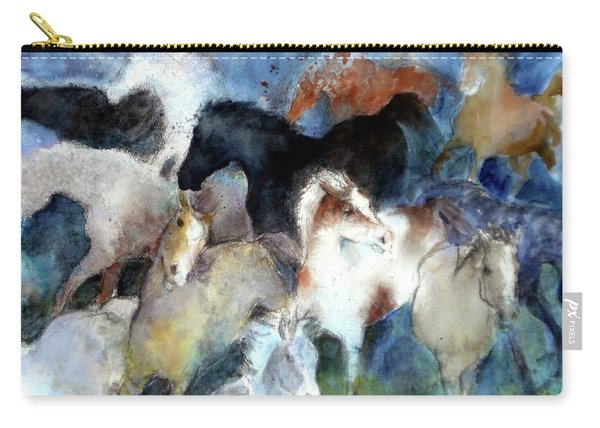 Dream Of Wild Horses Carry-all Pouch