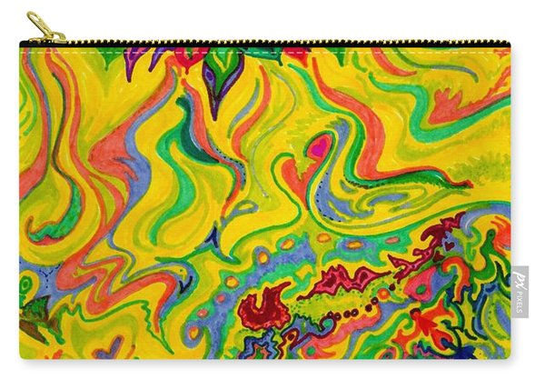 Dream-scaped Swamp Garden 2 Carry-all Pouch