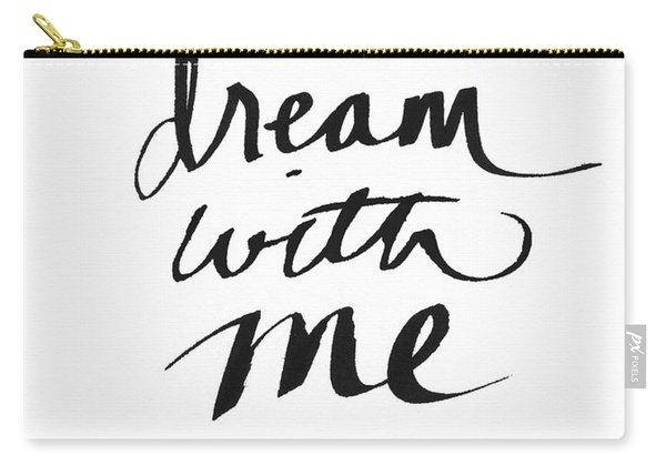 Dream With Me- Art By Linda Woods Carry-all Pouch